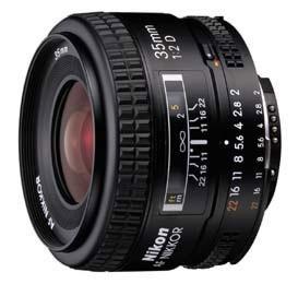 Nikon 35 mm F 2D AF