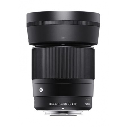 Sigma 30/1.4 DC DN Contemporary černý pro Sony bajonet E, Nákupní bonus 500 Kč (ihned odečteme z nákupu)