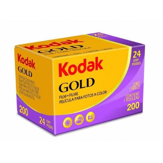 Kodak Gold 200/24 barevný negativní kinofilm