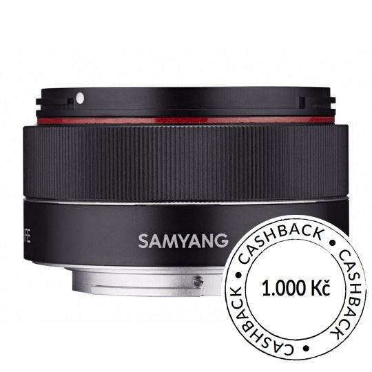 Samyang AF 35mm F/2.8 pro Sony FE, CashBack 1000 Kč