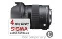 Sigma 17-70 mm F 2,8-4 DC Macro HSM pro Pentax (řada Contemporary), Bonus 600 Kč ihned odečteme