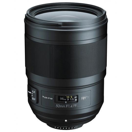 Tokina Opera 50 mm F1,4 FF AF pro Canon EF