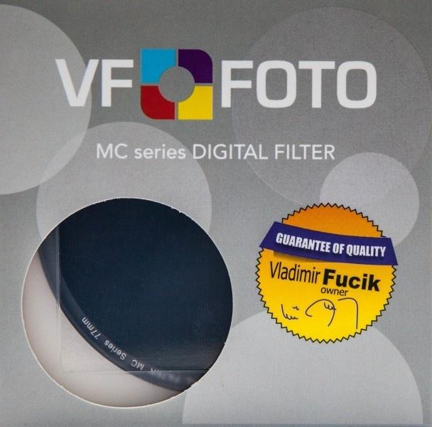 VFFOTO ND MC 1000x 67 mm + utěrka z mikrovlákna