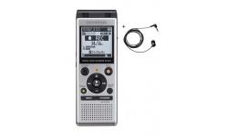 Olympus diktafon WS-852 stříbrný + TP8 Telefonní mikrofon