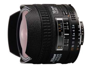 Nikon 16 mm F 2,8 AF D A rybí oko