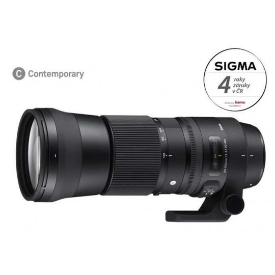 SIGMA 150-600/5-6.3 DG OS HSM Contemporary Nikon F, Bonus 2.000 Kč ihned odečteme