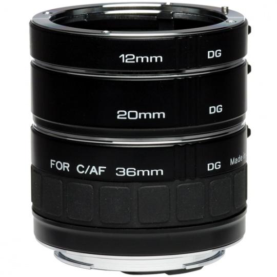 Kenko sada mezikroužků na Canon EF (12, 20, 36 mm) DG