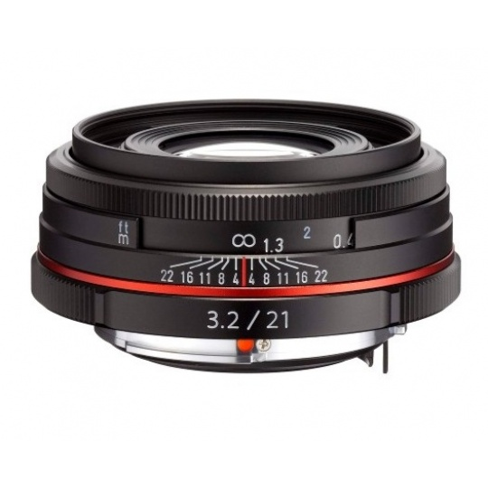 Pentax HD DA 21 mm F 3,2 AL Limited černý