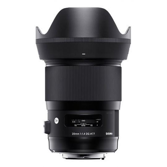 Sigma 28 mm F 1,4 DG HSM ART pro Canon EF, Nákupní bonus 1500 Kč (ihned odečteme z nákupu)