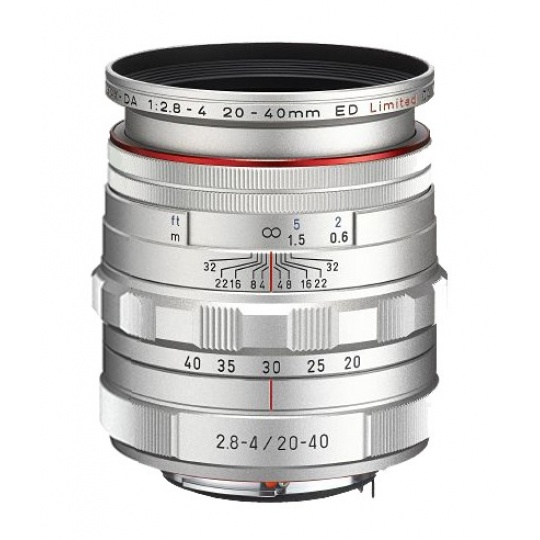Pentax HD DA 20-40 mm F 2,8-4 ED DC WR Limited stříbrný