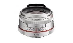 Pentax HD DA 15 mm F 4 ED AL Limited stříbrný