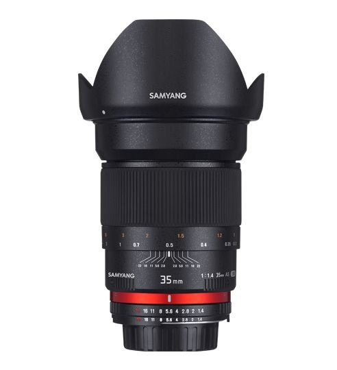 Samyang 35mm F/1.4 AS UMC pro Sony E