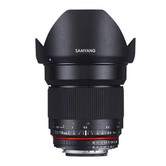 Samyang 16mm F/2.0 ED AS UMC CS pro Canon EF