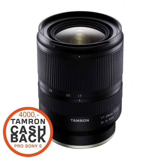Tamron 17-28mm F/2.8 Di III RXD pro Sony FE (A046SF), CashBack 4000 Kč