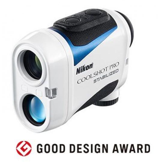 Nikon Laser Coolshot PRO Stabilized (stabilizace obrazu, s měřením sklonu)