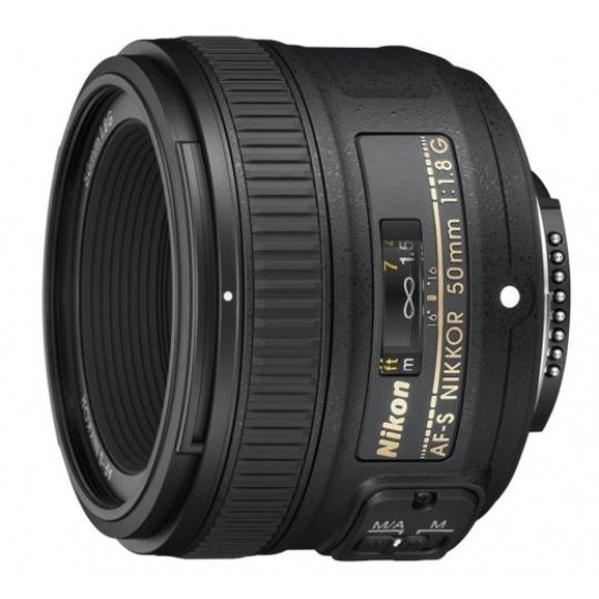 Nikon 50 mm F 1,8G AF-S, Akce -10%