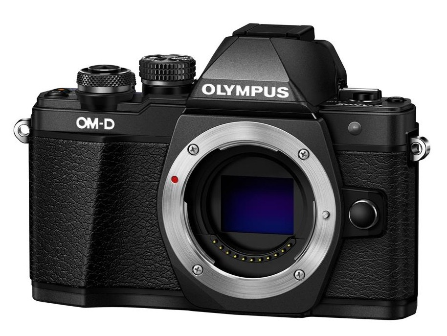 Olympus OM-D E-M10 mark II tělo černé + Karta SDHC 16GB a Náhradní baterie T6