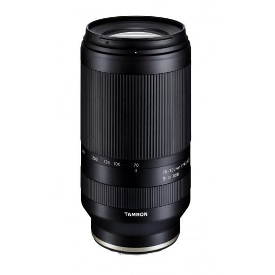 Tamron 70-300mm F/4.5-6.3 Di III RXD pro Sony FE (A047SF), CashBack 1500 Kč + Nákupní bonus 1000 Kč (ihned odečteme z nákupu)