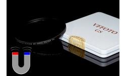 VFFOTO magnetický ND 2000x filtr GS 49 mm