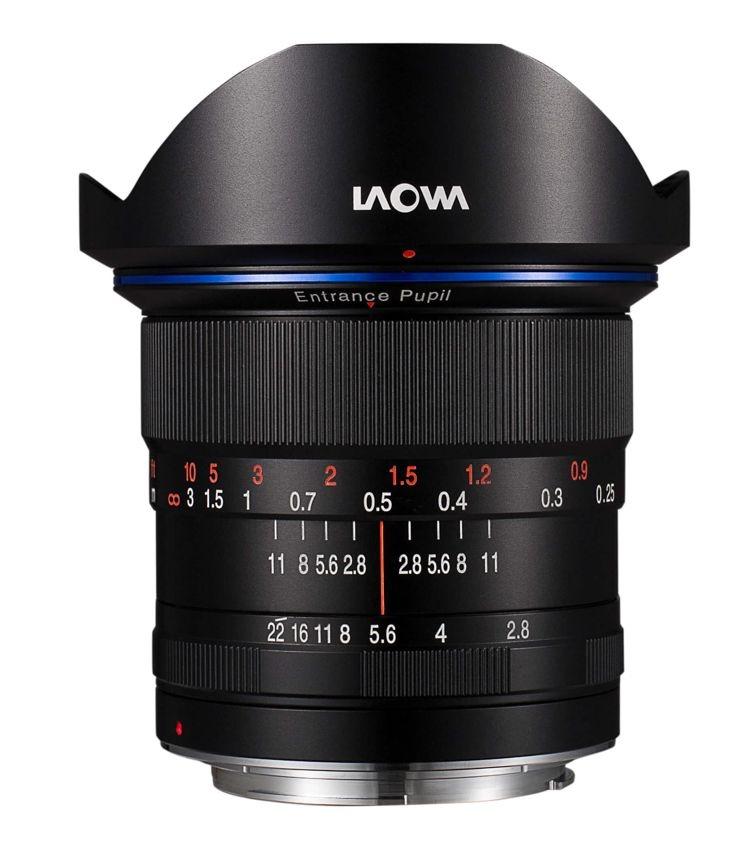 Laowa 12mm f/2.8 Zero-D pro Canon