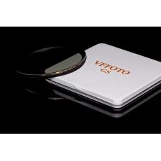 VFFOTO Cirkulární polarizační filtr GS S 72 mm + utěrka z mikrovlákna