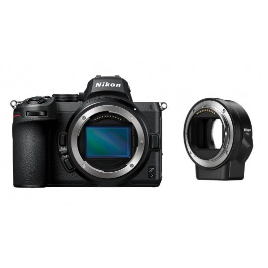 Nikon Z5 tělo + FTZ Adaptér + Nákupní bonus 1000 Kč (ihned odečteme z nákupu)