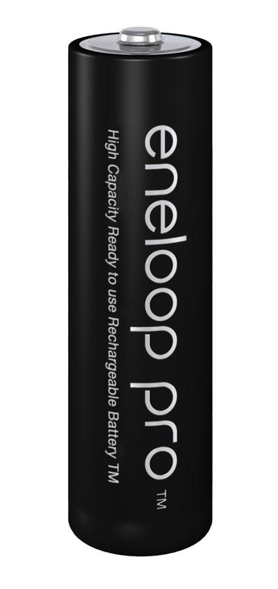 Panasonic Eneloop Pro 2450 mAh tužková baterie AA (1 ks.)