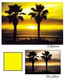 Cokin A001 Pro ČB fotografii žlutý