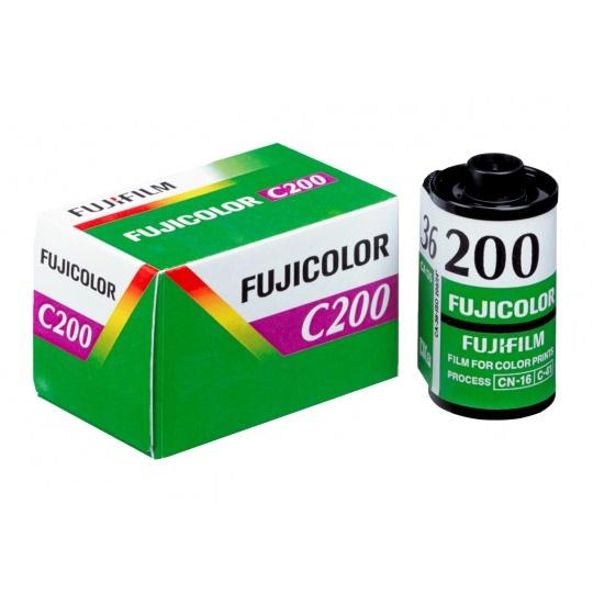 Fujifilm FUJICOLOR C200/36 barevný negativní kinofilm