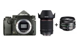 Pentax KP + HD DA 16-85 ED DC WR černý + Objektiv Pentax DA 50/1,8