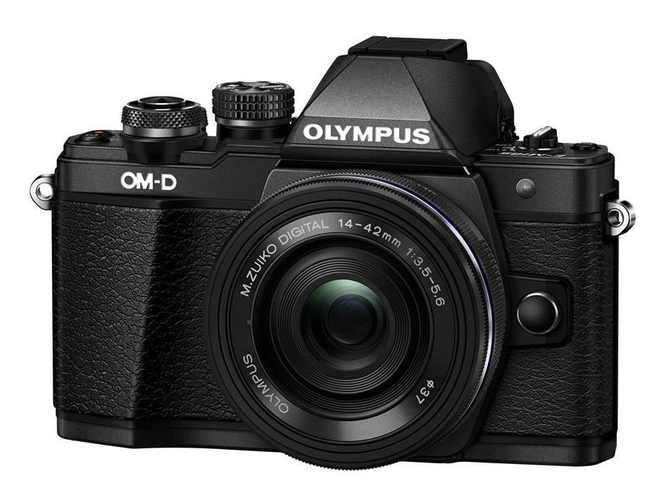 Olympus OM-D E-M10 mark II + 14-42 mm EZ černý + Karta SDHC 16GB a Náhradní baterie T6