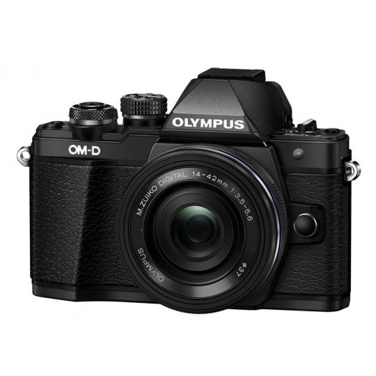 Olympus OM-D E-M10 mark II + 14-42 mm EZ černý + náhradní baterie T6