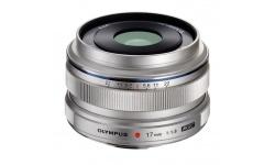 Olympus M.ZUIKO DIGITAL 17mm 1:1.8 stříbrný, Extra bonus 3000 Kč (ihned odečteme z nákupu)