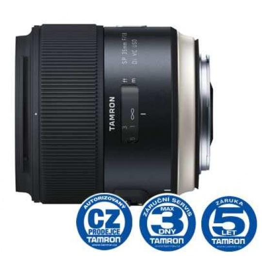 Tamron SP 35mm F/1.8 Di VC USD pro Canon EF, Nákupní bonus 1300 Kč (ihned odečteme z nákupu)