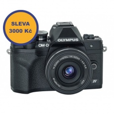 Olympus OM-D E-M10 mark IV + 14-42 EZ černý