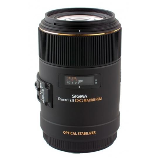 Sigma 105 mm F 2,8 Macro EX DG OS HSM pro Canon, Bonus 700 Kč ihned odečteme