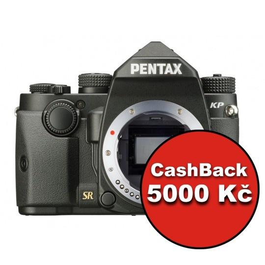 Pentax KP tělo černé, CashBack 5000 Kč