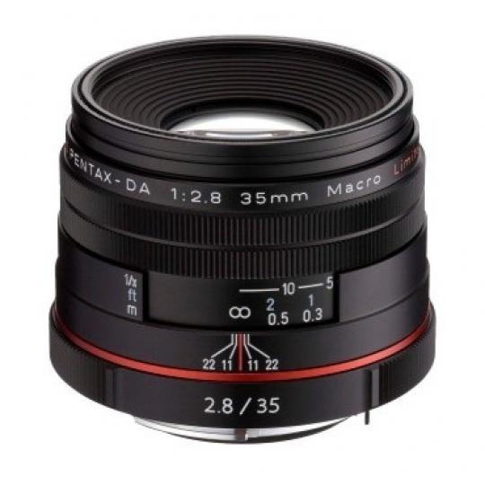 Pentax HD DA 35 mm F 2,8 Macro Limited černý