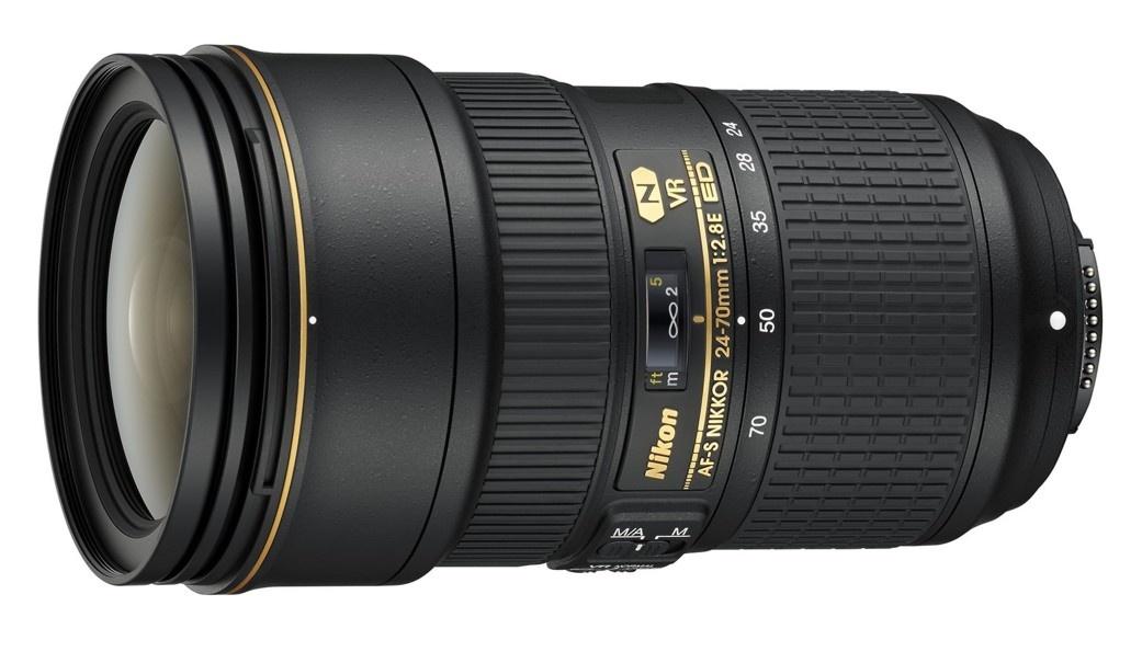 Nikon 24-70 mm F 2,8E ED AF-S VR