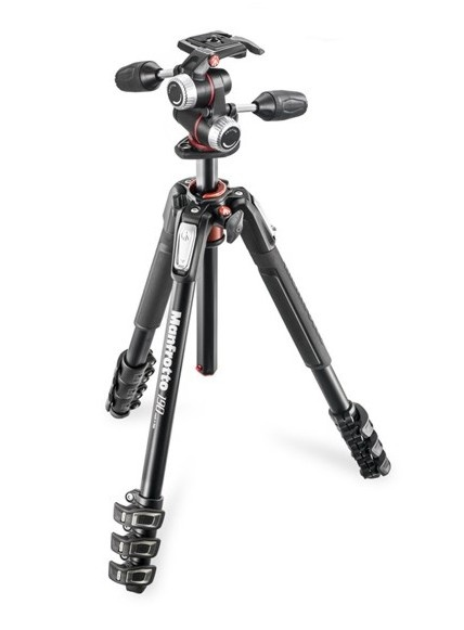 Manfrotto MK 190XPRO4-3W (set MT 190XPRO4 + MHXPRO-3W)