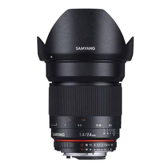 Samyang 24mm F/1.4 ED AS IF UMC AE pro Nikon F