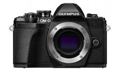 Olympus OM-D E-M10 mark III tělo černé + Karta SDHC 32GB, Náhradní baterie, Powerbanka a Brašna