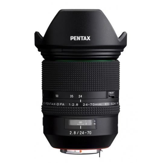 Pentax HD D-FA 24-70 mm F 2,8 ED SDM WR