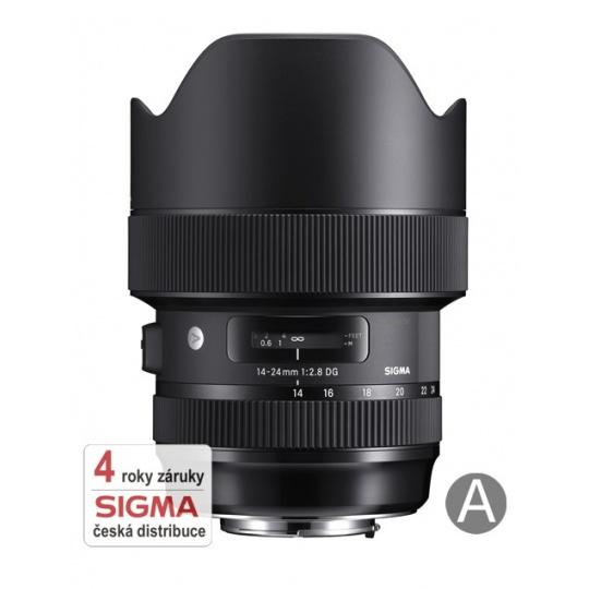Sigma 14-24/2.8 DG DN ART Nikon F, Nákupní bonus 2000 Kč (ihned odečteme z nákupu)