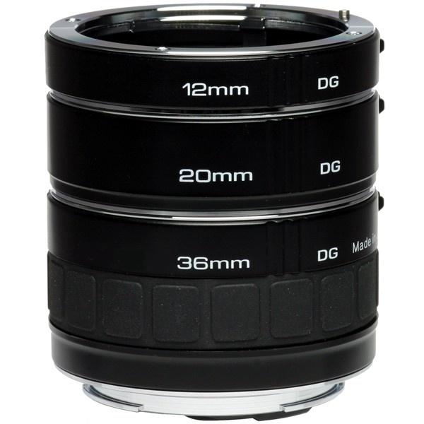 Kenko sada mezikroužků na Nikon (12, 20, 36 mm) DG