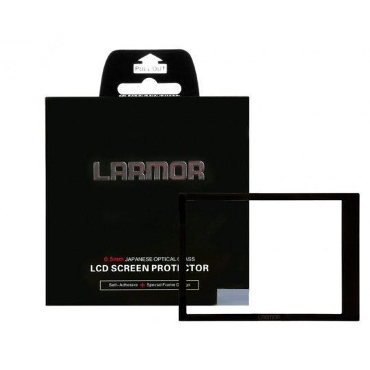 Larmor ochranné sklo na displej pro Sony A7II/A7R.