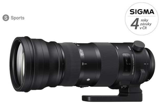 SIGMA 150-600/5-6.3 DG OS HSM SPORT Nikon, Bonus 2.000 Kč ihned odečteme