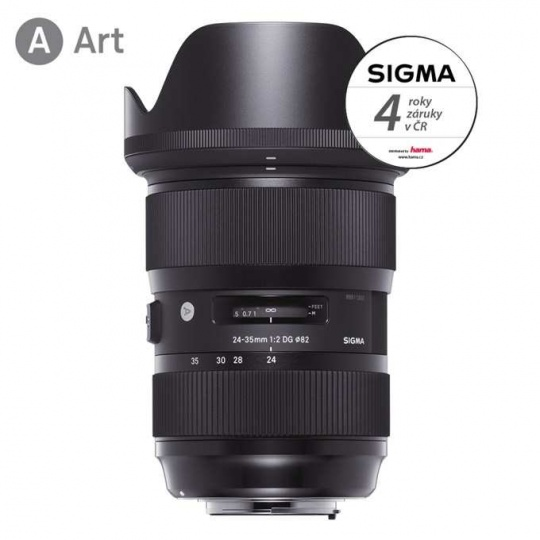 SIGMA 24-35/2 DG HSM ART Canon EF, Bonus 1.500 Kč ihned odečteme
