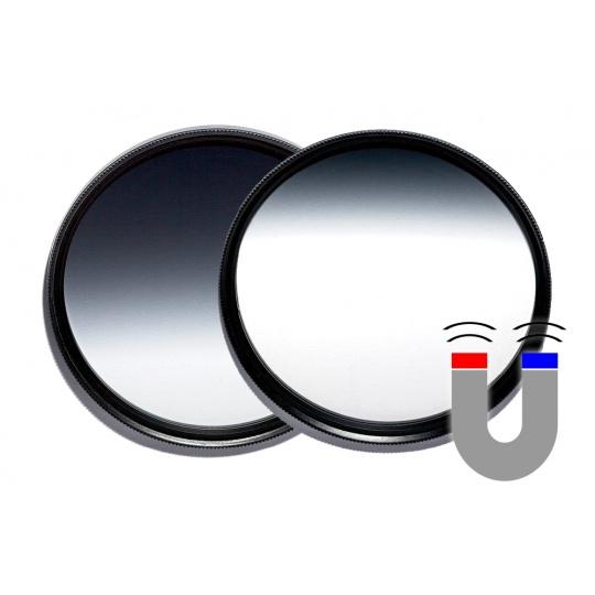 VFFOTO ND 0,9 2/3 a 1/3 GS 82 mm sada dvou magnetických přechodových filtrů