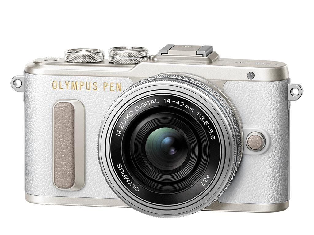 Olympus PEN E-PL8 + 14-42 mm EZ bílý + blesk FL-LM1, Nákupní bonus 3000 Kč (ihned odečteme z nákupu)